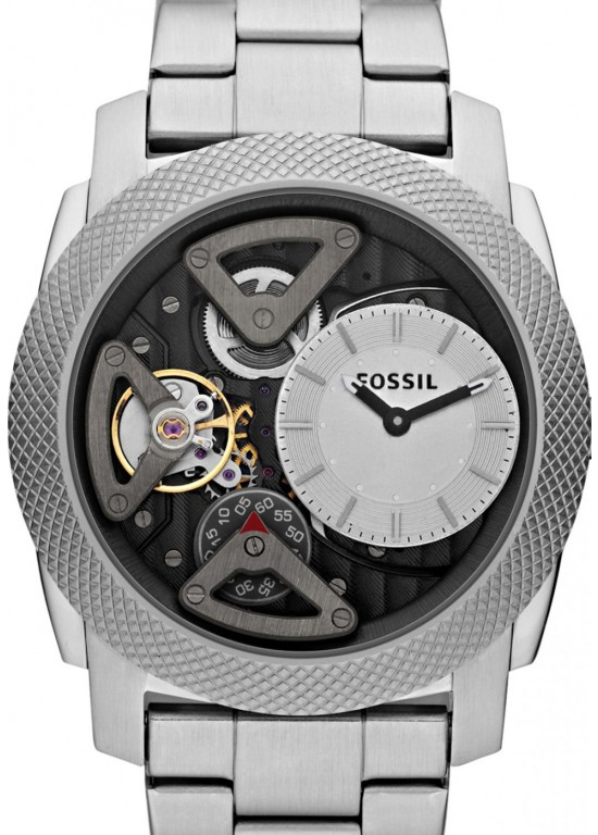 Fossil Machine Stainless Steel Mens Watch - ME1120