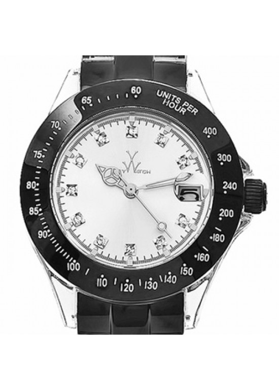 Toy Watch Heavy Metal Stainless Steel Mens Watch - HM01BK-dial