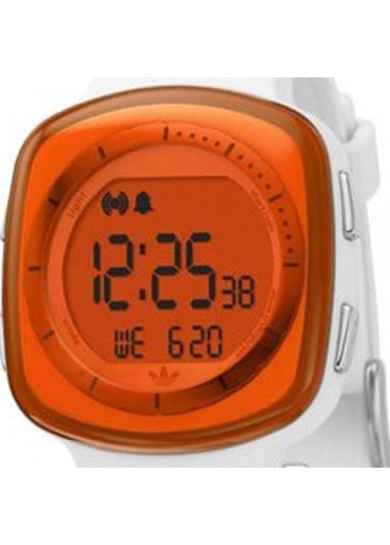 Adidas Tokyo Chronograph Orange Digital Dial Sport Watch ADH6045-dial