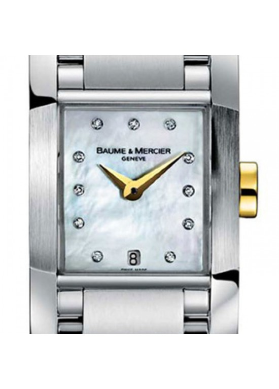 Baume & Mercier Diamant Stainless Steel Ladies Watch - MOA08738-Dial