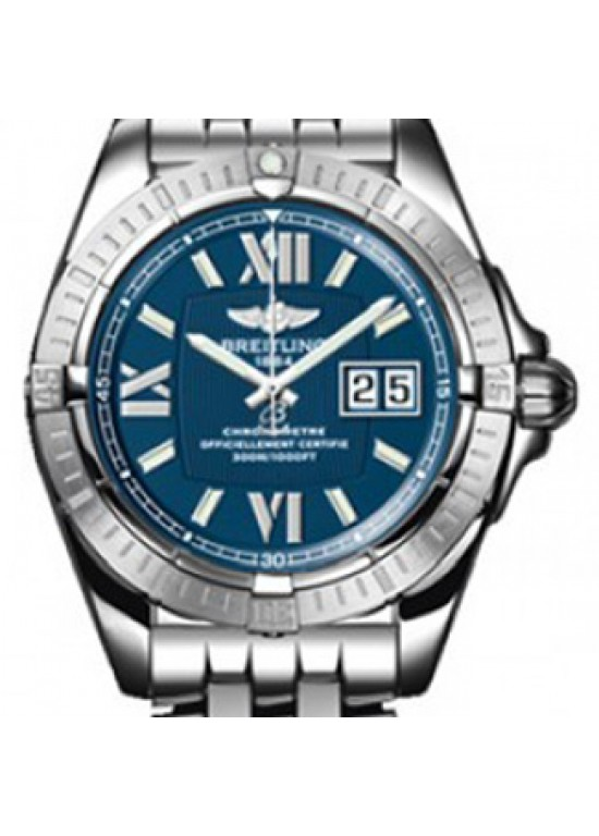 Breitling Cockpit Windrider Stainless Steel Mens Watch - A4935011/C762-Dial