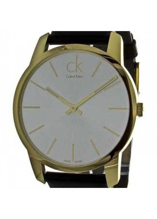 Calvin Klein City Gold Ion-plated Stainless Steel Mens - K2G21520-dial