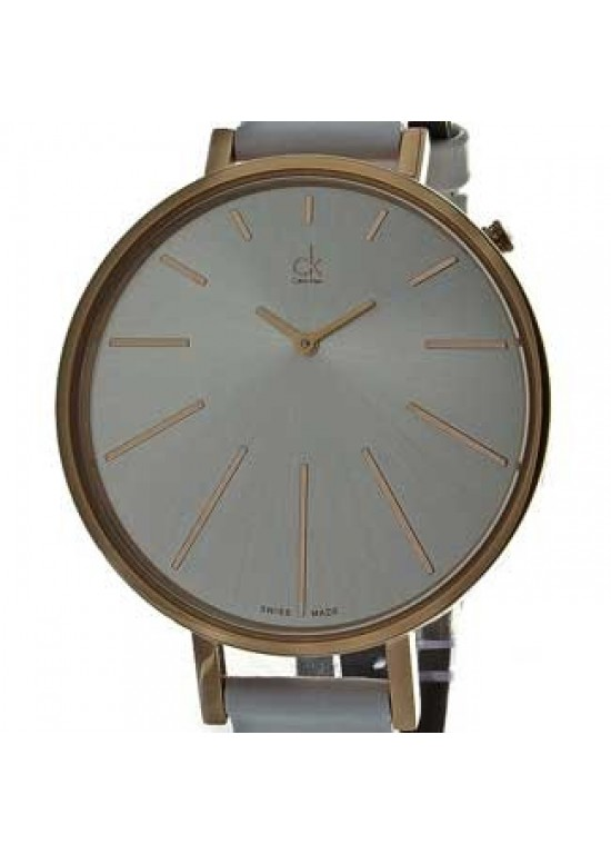 Calvin Klein Classic Rose Gold-Tone Stainless Steel Ladies - K3E236L6-dial