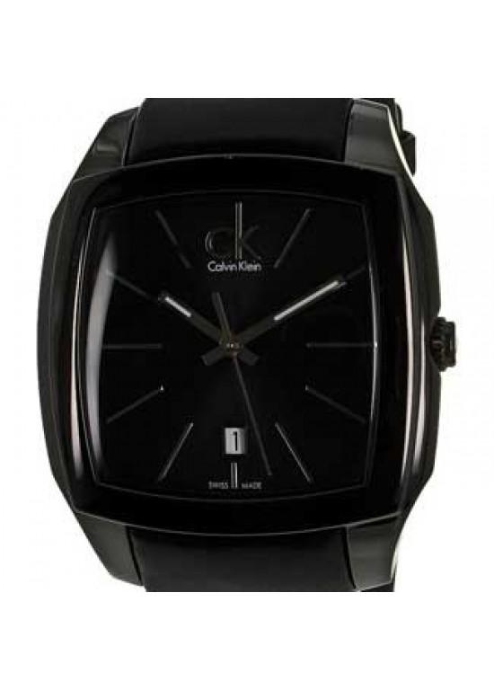 Calvin Klein Recess Black PVD Stainless Steel Mens - K2K21402-Dial