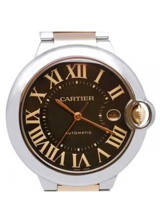 Cartier Ballon Bleu Stainless Steel Mens Watch - W6920032-dial