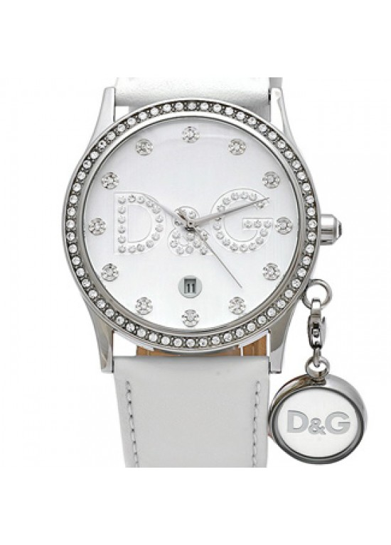 D&G Gloria Stainless Steel Ladies Watch - DW0091-dial