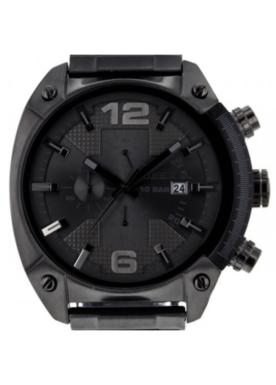 Diesel Advanced Gunmetal Ion-plated SS Mens Watch - DZ4224-dial