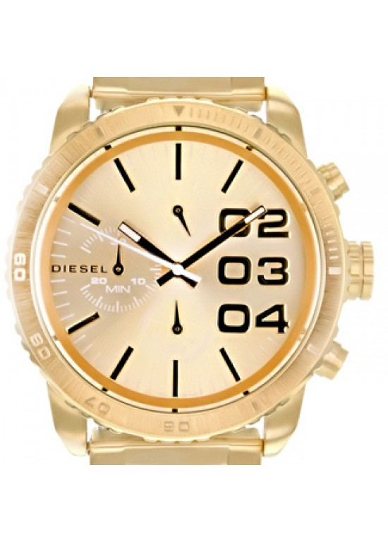 Diesel Advanced Gold Ion-plated Stainless Steel Ladies Watch - DZ5302-Dial