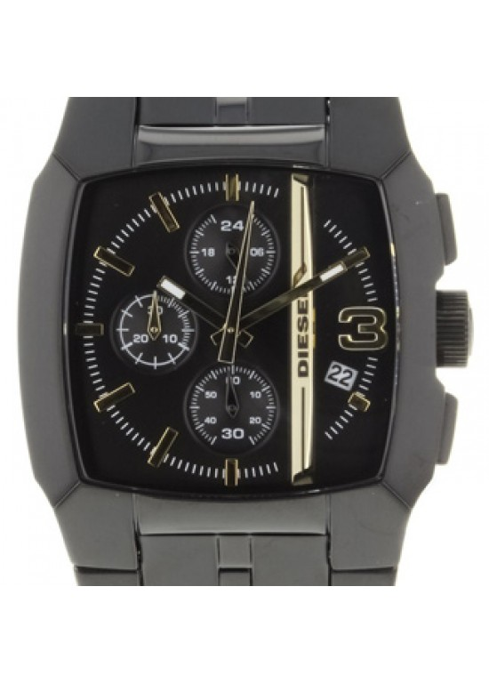 Diesel Classic Black Stainless Steel Mens Watch - DZ4259-dial