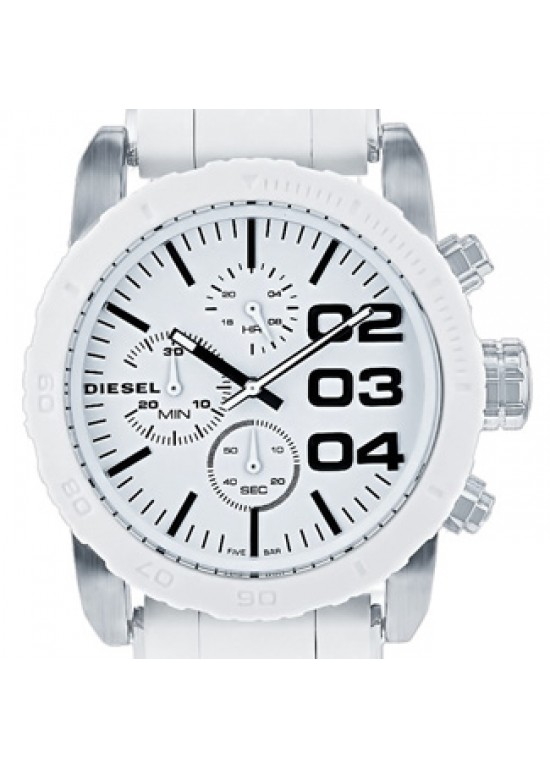 Diesel Classic Stainless Steel Silicone Topring Ladies Watch - DZ5306-dial