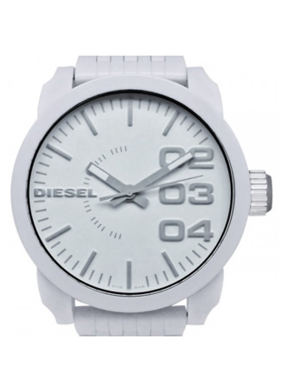 Diesel Color Domination White Plastic Mens Watch - DZ1461-dial