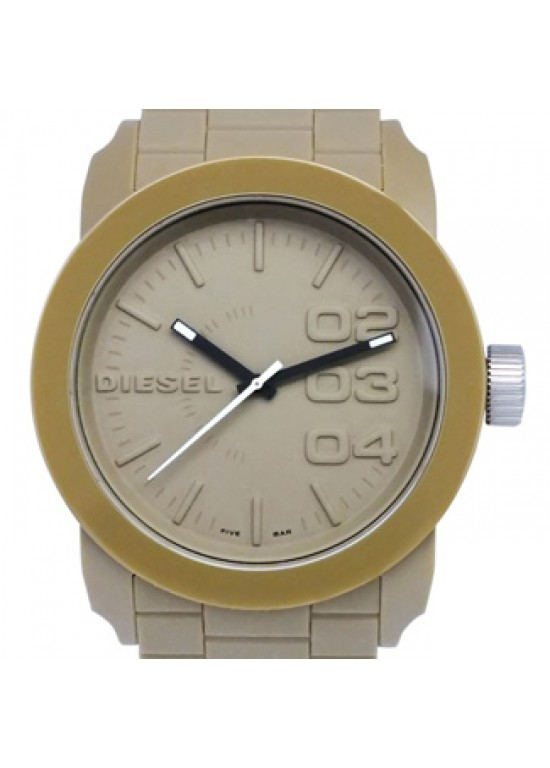 Diesel Domination Beige Plastic Mens Watch - DZ1532-dial
