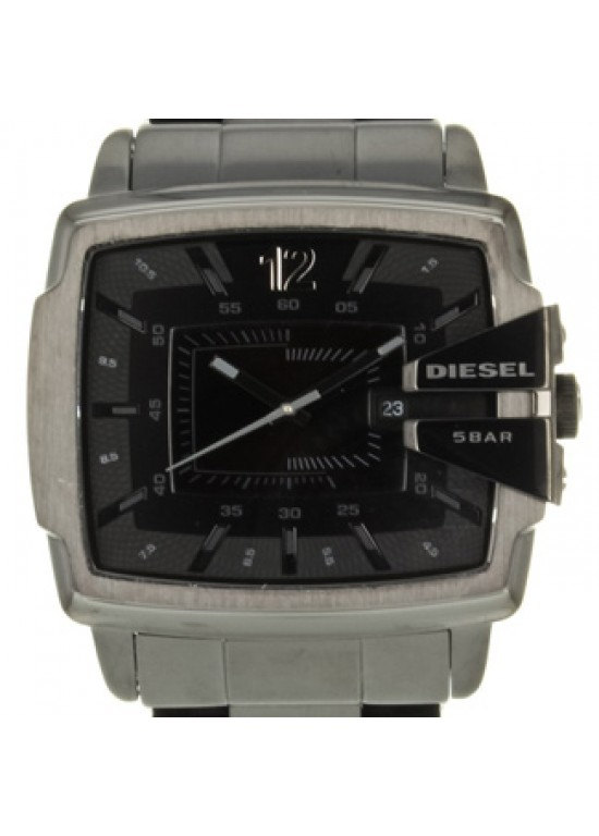 Diesel Not So Basic Black Ion-plated SS Unisex Watch - DZ1499-dial