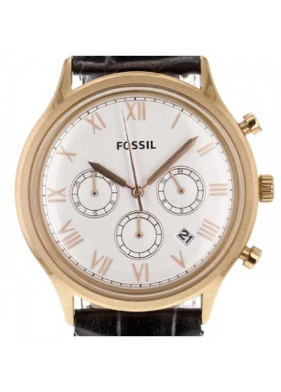 Fossil Ansel Stainless Steel Mens Watch - FS4744-dial