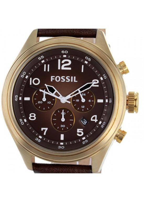 Fossil Classic Vintage Bronze Mens Watch - DE5002-dial