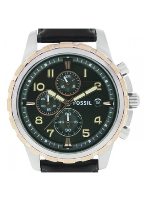 Fossil Dean Stainless Steel Mens Watch - FS4545-dial