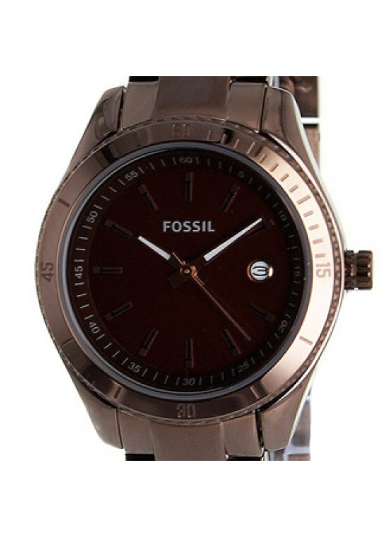 Fossil Dress Brown PVD Stainless Steel Ladies Watch - ES3029-dial