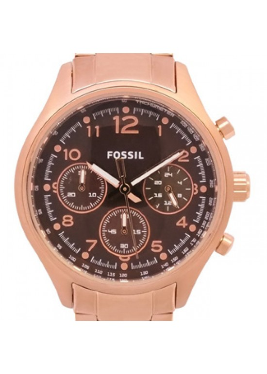 Fossil Flight Gold Tone Mens Watch - CH2793-dial
