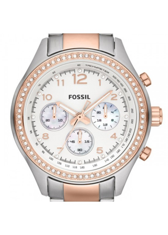 Fossil Flight Stainless Steel Ladies Watch - CH2797-dial
