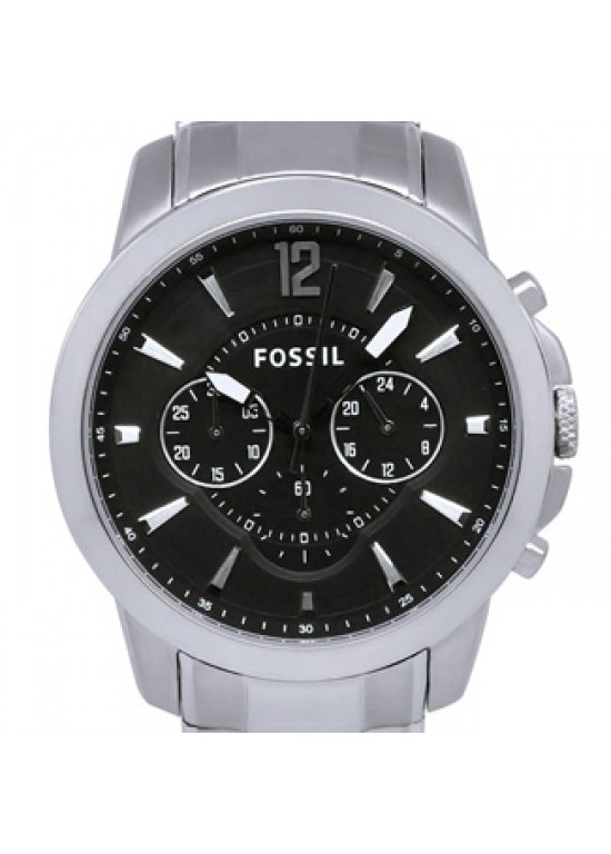 Fossil Grant Stainless Steel Mens Watch - FS4532-dial