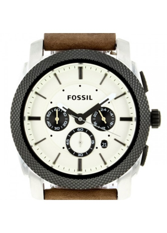 Fossil Machine Stainless Steel Mens Watch - FS4732-dial