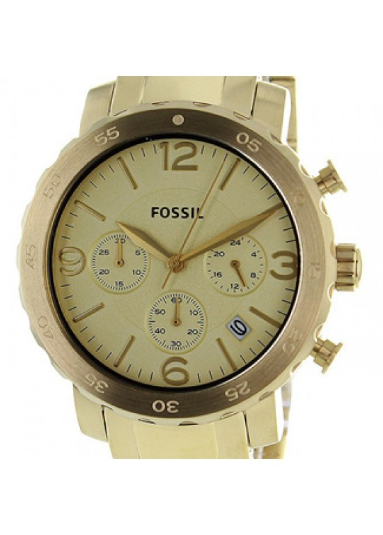 Fossil Natalie Gold Ion-plated Stainless Steel Ladies Watch - AM4422-dial