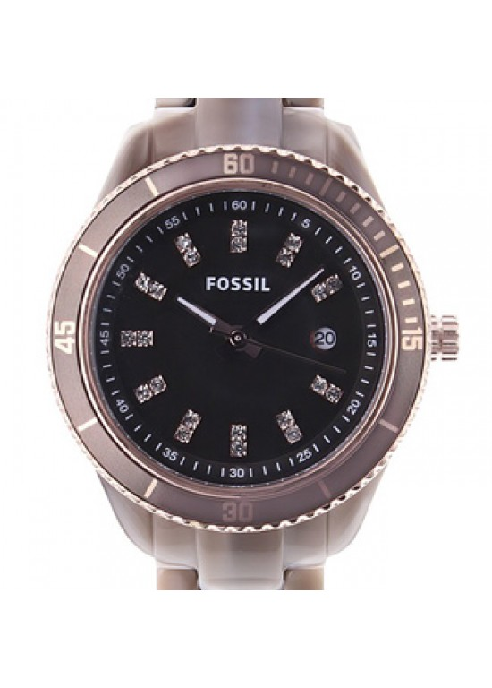 Fossil Stella Mini Faux Alpine Horn Plastic Ladies Watch - ES3094-dial