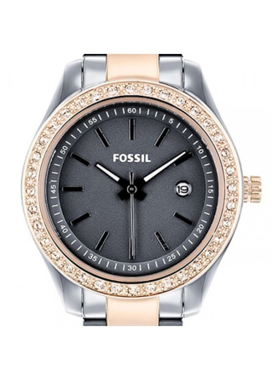 Fossil Stella Mini Stainless Steel Ladies Watch - ES3032-dial