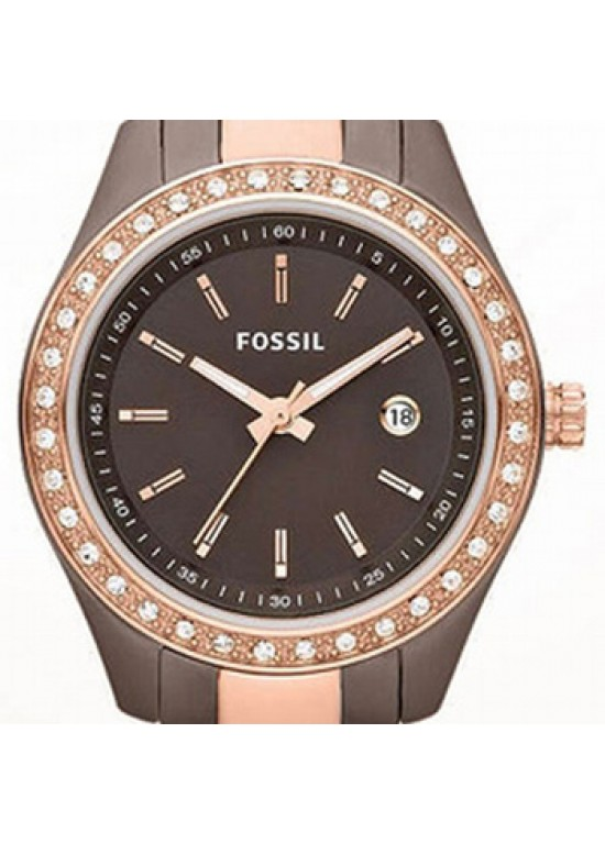 Fossil Stella Stainless Steel Ladies Watch - ES3000-dial