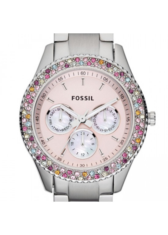 Fossil Stella Stainless Steel Ladies Watch - ES3050-dial