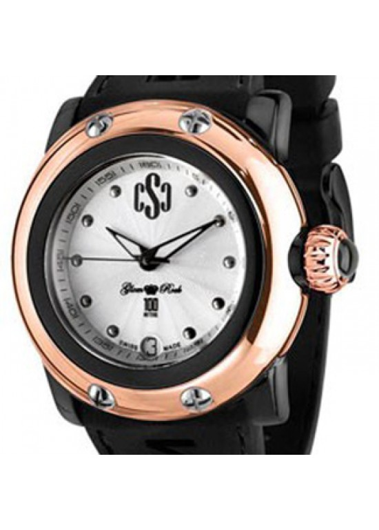 Glam Rock Miami Beach Rose Gold Ion-plated SS Ladies Watch-GR64000-Dial