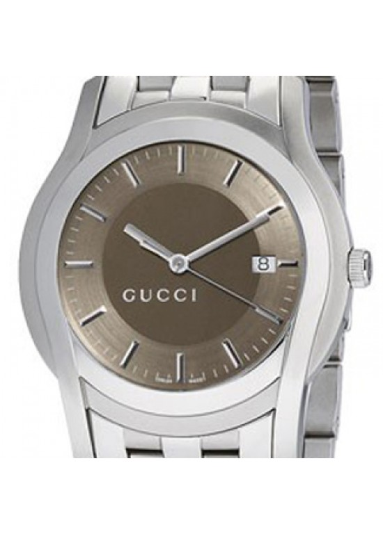 ed7ba1d0874 GUCCI 5505 SERIES STAINLESS STEEL MENS WATCH - YA055215 - MY LOVE STONE