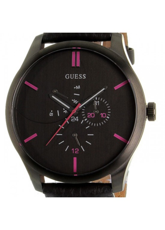 Guess Analogue Stainless Steel Mens Watch - W11162G1-Dial