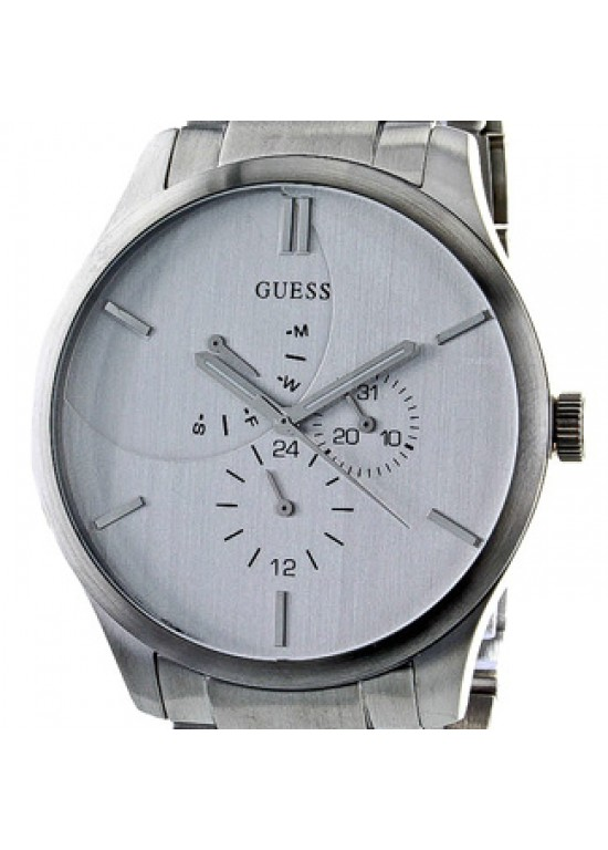 Guess Analogue Stainless Steel Mens Watch - W14055G1-dial