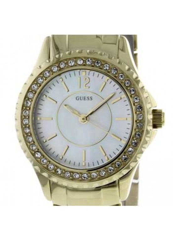 Guess Rock Stainless Steel Ladies Watch - I11068L1-dial