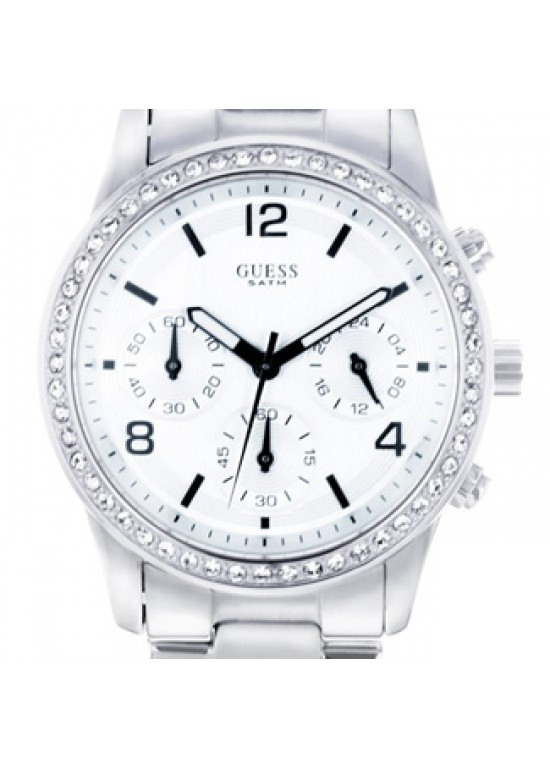 Guess Spectrum Chronograph Stainless Steel Ladies Watch - W14537L1-dial