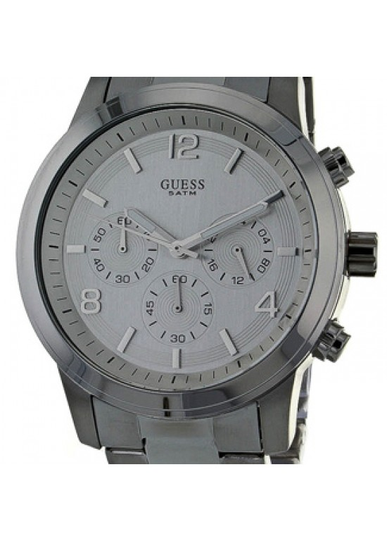 Guess Spectrum Chronograph Stainless Steel Mens Watch - W12605L1-dial