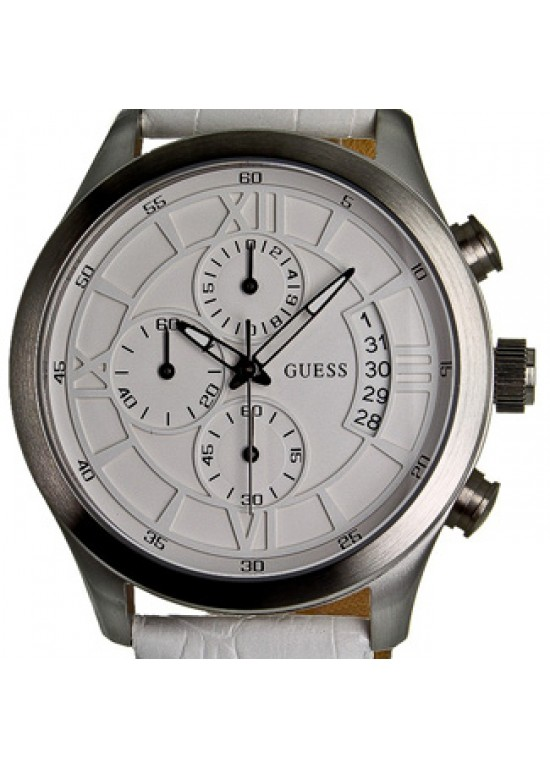 Guess Sports Stainless Steel Mens Watch - W12101G1-dial