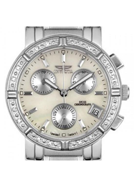Invicta II Diamond Chronograph Ladies Watch 4718-dial