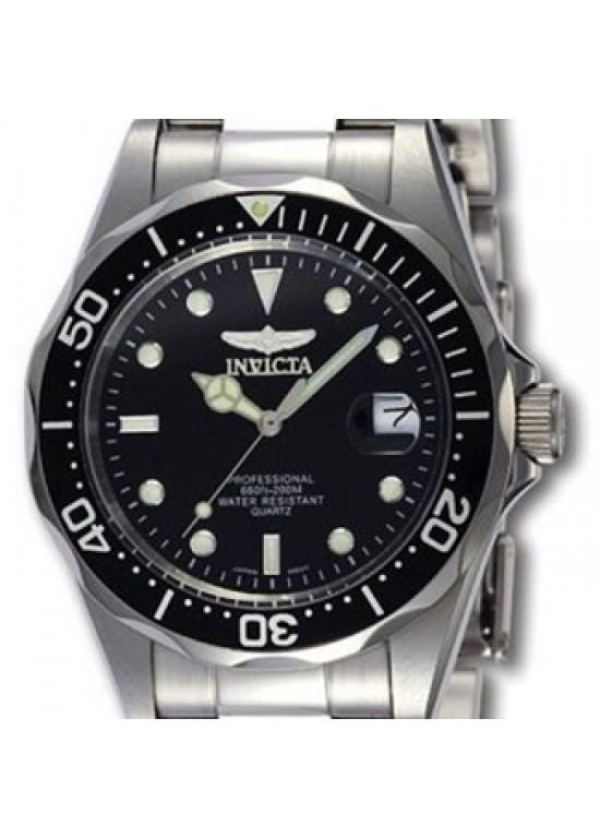 Invicta Mens Pro Diver Collection Silver-Tone Watch 8932-dial