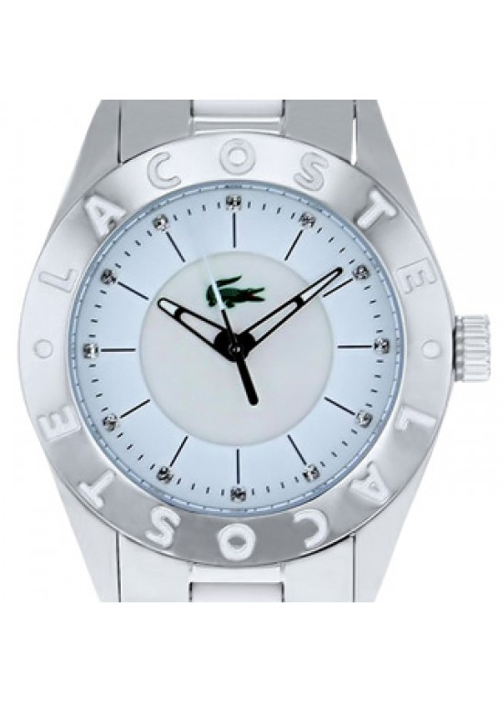 Lacoste Biarritz Stainless Steel Ladies Watch - 2000535-dial