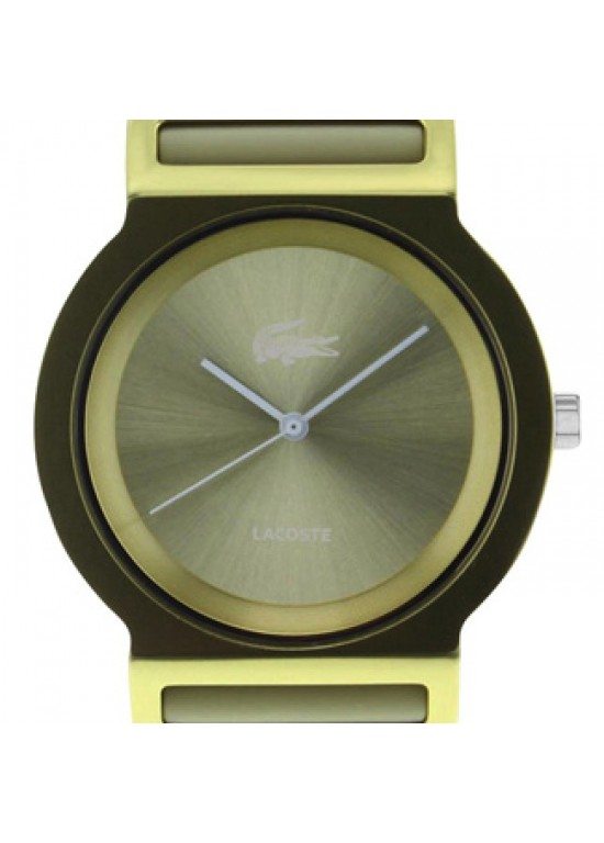 Lacoste Tokyo Gold-tone Aluminum Unisex Watch - 2000698-dial