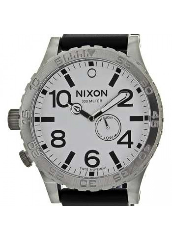 Nixon 51-30 Stainless Steel Mens Watch - A058-100-dial
