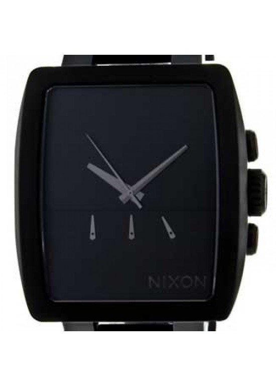 Nixon Axis Black Stainless Steel Mens Watch - A324-001-dial