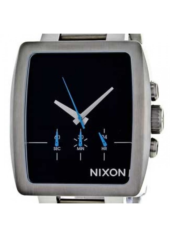 Nixon Axis Stainless Steel Mens Watch - A324-000-dial