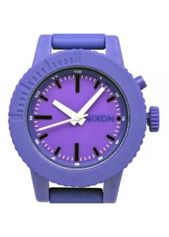 Nixon Gogo Purple Polycarbonate Ladies Watch - A287-230 - dial