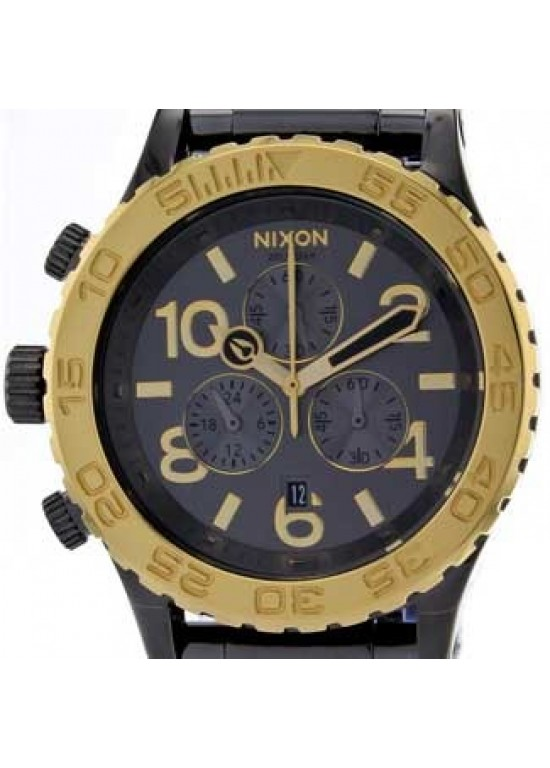 Nixon Herren Chronograph Stainless Steel Mens Watch - A037-228-dial