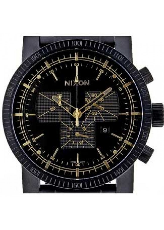 Nixon Magnacon Stainless Steel Mens Watch - A154-041-dial
