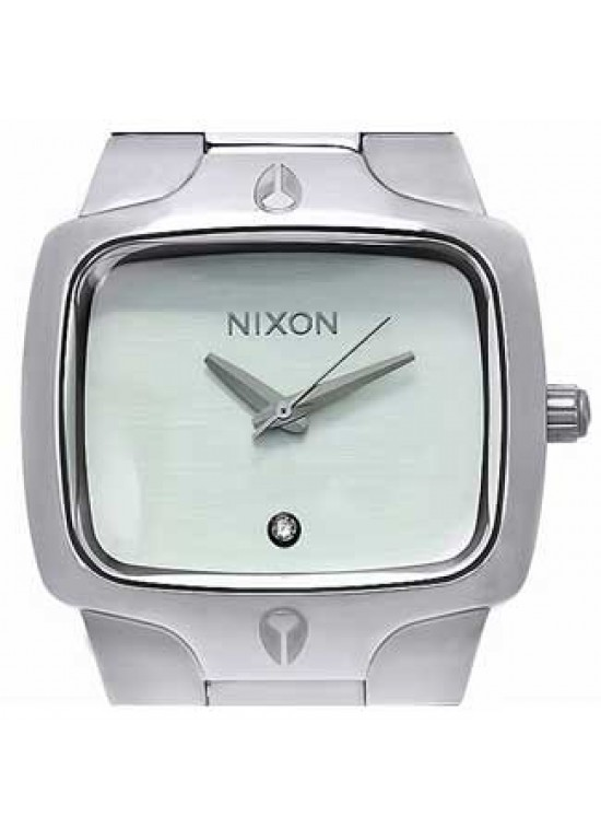 Nixon Player Stainless Steel Mens Watch - A140-100-dial