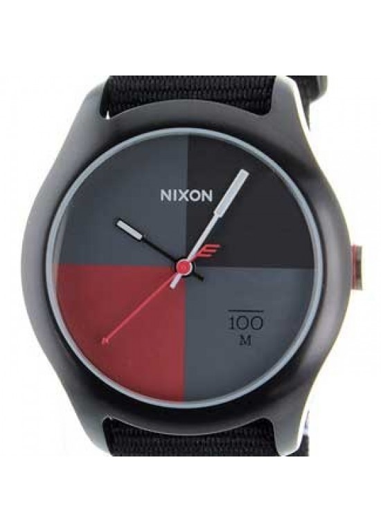 Nixon Quad Stainless Steel Mens Watch - A344-167-dial